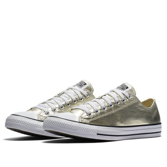 9881aa1f93ee50 Converse Shoes - Converse Chuck Taylor All Star Metallic Sneakers